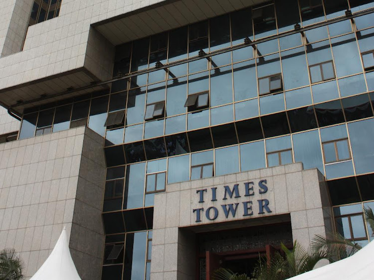The KRA headquarters at the Times Towers.