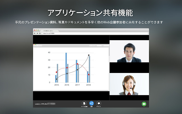 V-CUBE SalesPlus Screen Share