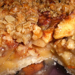 Caramel Apple Cobbler-Crisp
