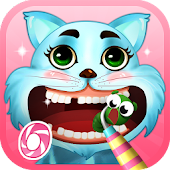 Cat Dentist - Kitty Kids Game