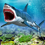 Hungry Blue Whale Shark Attack: Shark Attack Games Icon