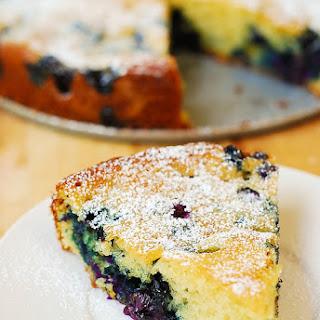 Blueberry Greek Yogurt Cake.