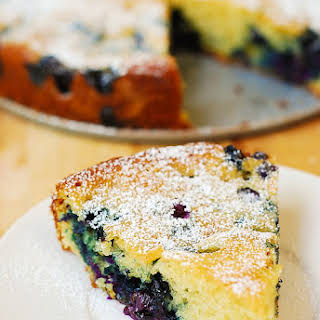 Blueberry Greek Yogurt Cake.