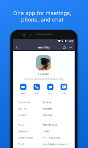 ZOOM Cloud Meetings 5.4.9.1079 MOD APK [UNLOCKED] 1