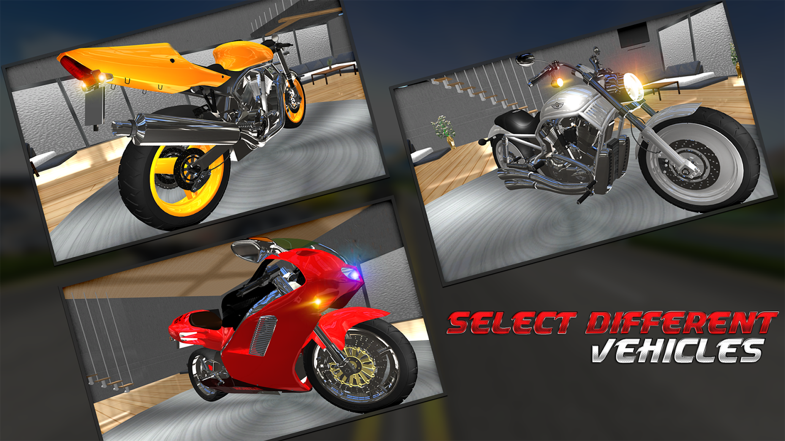 Screenshots of Racing In Moto for Android