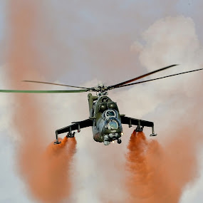 Vojenské cvičení by Jiří Staško - Transportation Helicopters