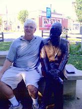Photo: Corydon IN - Frank O'Bannon statue