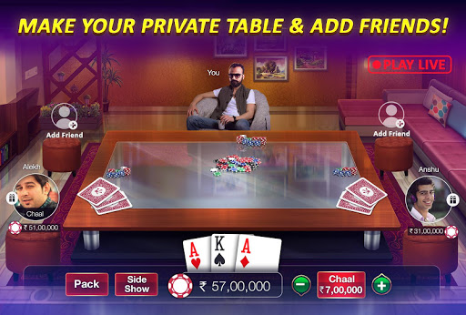 Teen Patti Gold - 3 Patti, Rummy, Poker Card Game screenshot 6
