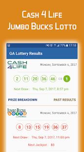 ... Georgia Lottery Results apk screenshot ...