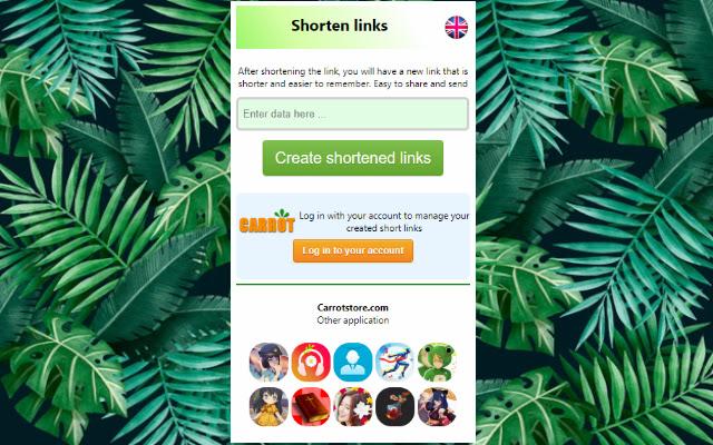 Shorten links
