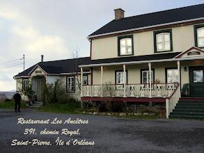Photo: Restaurant Les Ancêtres à l'Ile d'Orléans