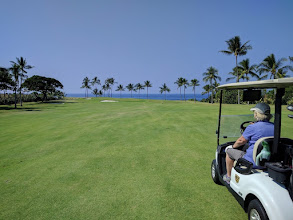 Photo: Kona Country Club down in the Keauhou Bay area south of Kona.