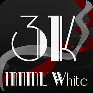 3K MNML White - Icon Pack - Go...