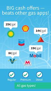 GetUpside: Cheap Gas, Restaurant & Grocery Deals