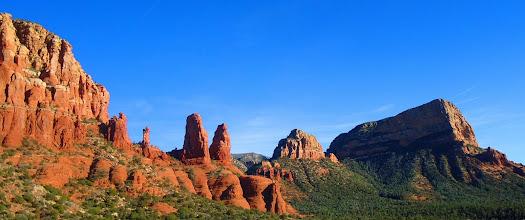 Photo: Sedona, Arizona, taken from Church on the Hill.