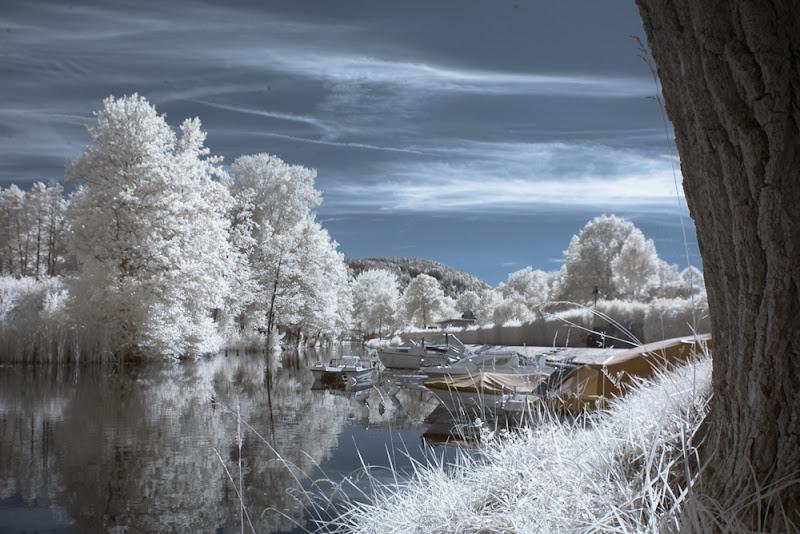 Photo: Lendkanal  #ir  #infrared  #infraredfriday by +Paula Cobleighand +Ingo Schobert