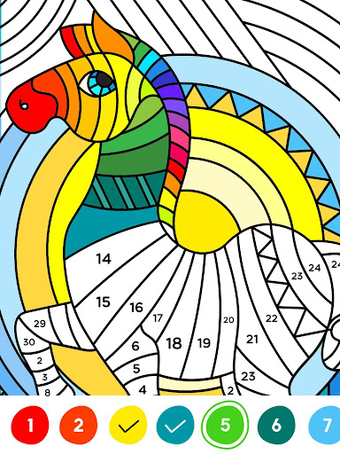 Nopaint Relaxing Coloring Games Apps On Google Play