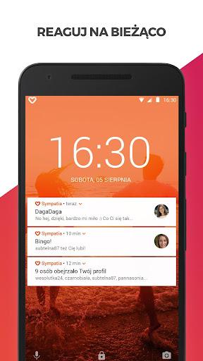 Sympatia u2013 randki, flirt, czat 4.5.1620 screenshots 6
