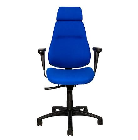 Sverigestolen 817 kompl. blå