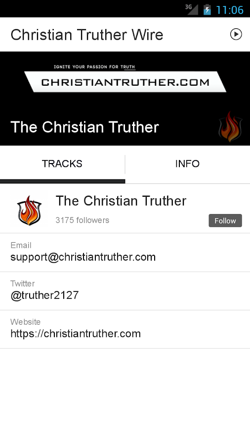 Christian Truther Wire- screenshot
