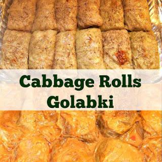 Cabbage Rolls, Golabki.