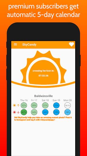SkyCandy - Sunset Forecast App screenshots 3