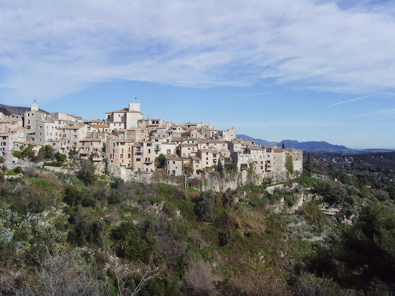 Tourrettes sur Loup is a charming medieval village between Nice and Cannes, France.