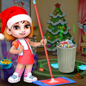 Christmas Doll House Cleanup icon