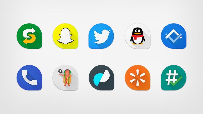 Pixeldrop – Icon Pack v1.2