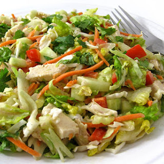 Skinny, Crunchy, Vietnamese Chicken Salad