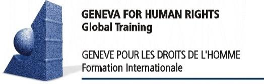 Image result for geneva for human rights - global training