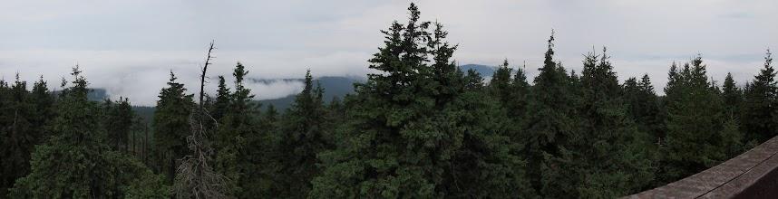 Photo: I dużo gorszy w kierunku Gór Bystrzyckich.