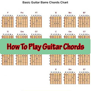 How To Play Guitar Chords - náhled