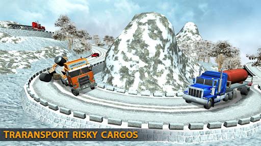 Truck Driving Uphill : Truck simulator games 2020 apktram screenshots 15