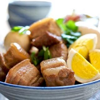 Vietnamese braised pork & eggs in caramel Recipe - Thit Heo Kho Trung