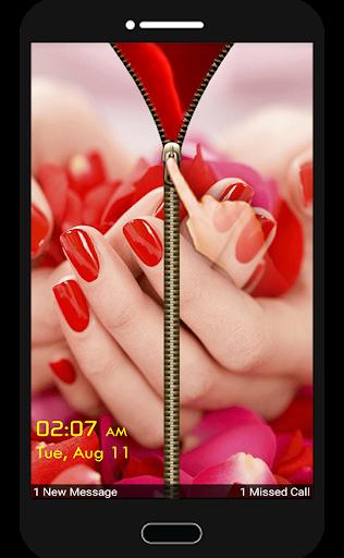 红玫瑰鲜花屏幕锁定