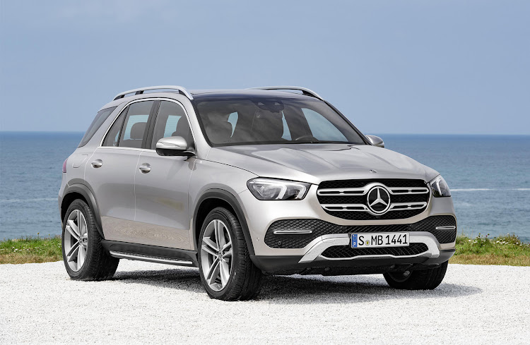 The Mercedes GLE.