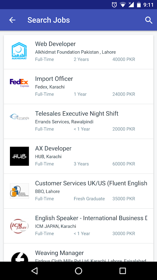 Mustakbil Jobs Search & Hiring- screenshot