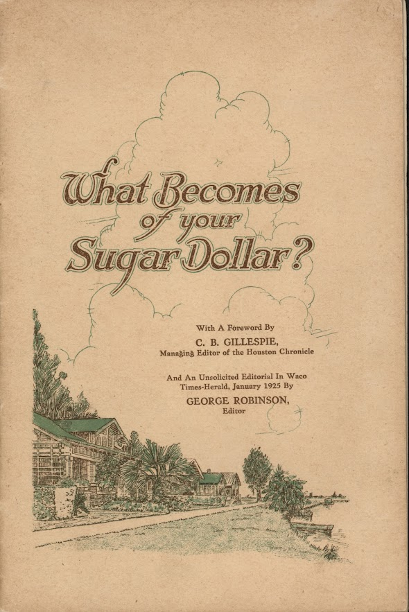 What Becomes of Your Sugar Dollar?