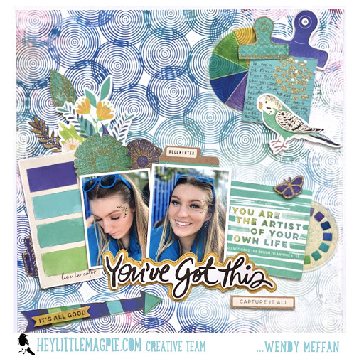 You Got This! – Vicki Boutin – Color Study – Wendy Meffan