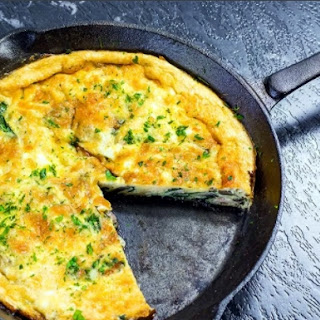 Yummy Low Carb Breakfast Frittata.