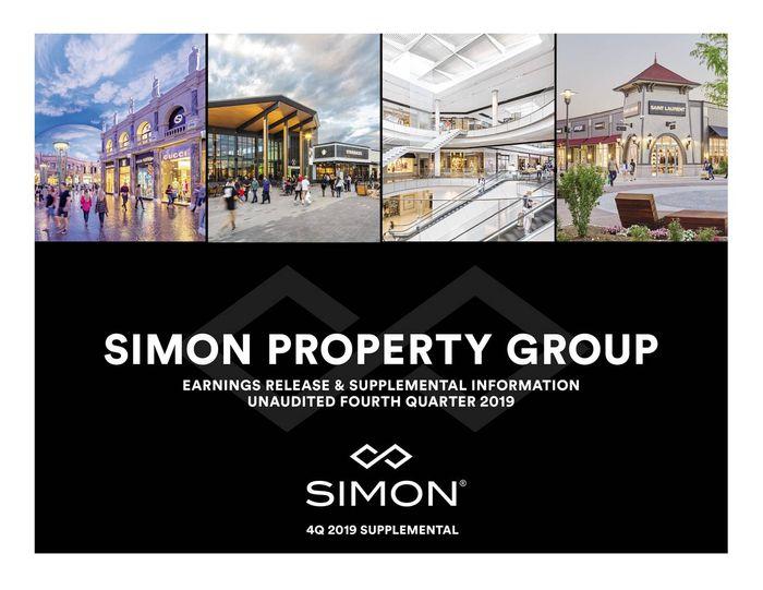 美國股票推薦-Simon Property Group Inc | 西蒙房地產集團(REITs)