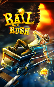 Rail Rush MOD (Unlimited Money) 1