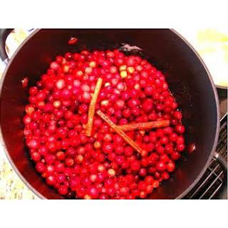 Cranberry Ginger Chutney.