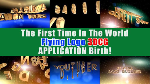 FLYING LOGO BUILDER - 3d Intro Movie Maker Apk 2