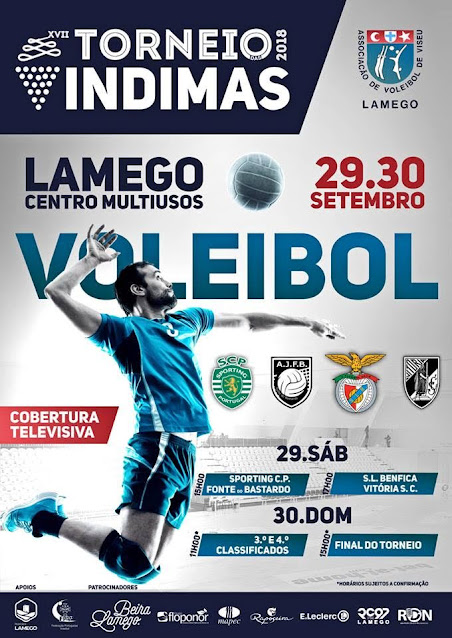 Lamego recebe voleibol de topo para o Torneio das Vindimas