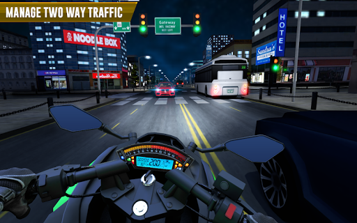 Police Moto Bike Highway Rider Traffic Racing Game modavailable screenshots 10