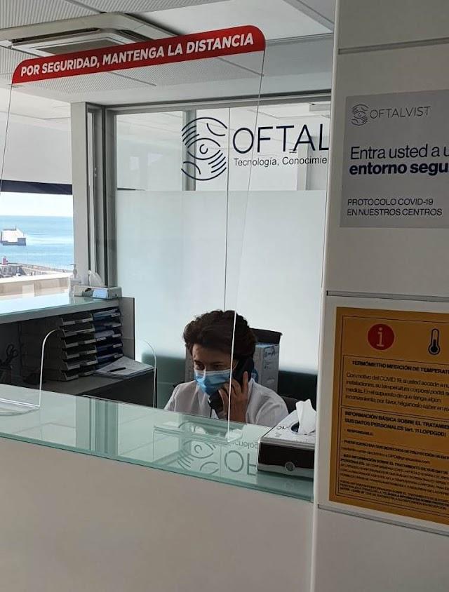 Clínica oftalmológica Oftalvist enAlmería.