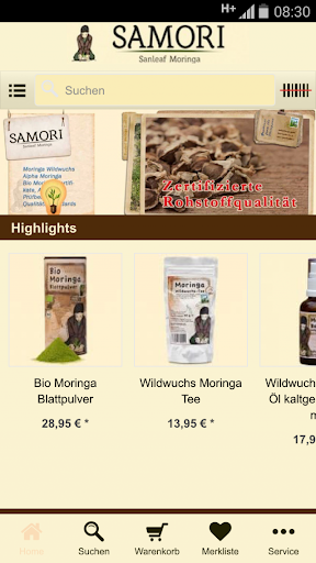 Moringa Europe Shop