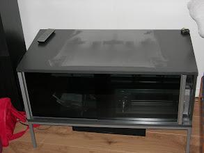 Photo: daar waar eens de Panasonic stond, rest nu niets meer dan stof...